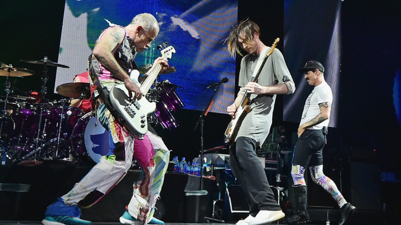Chili Peppers, Pink, Petty to jam at KAABOO 2017