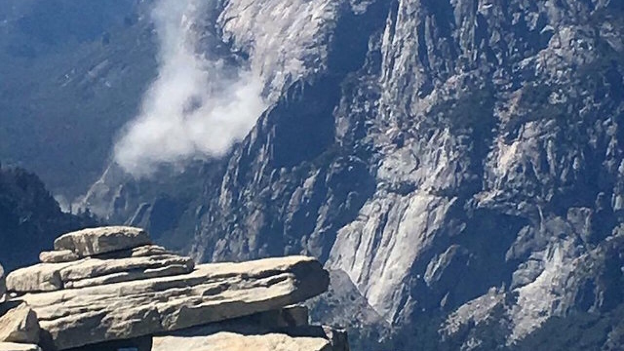 2nd rockfall in two days at Yosemite's El Capitan injures one