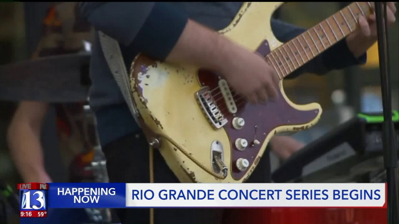 Gateway patrons hope Rio Grande concert series helps revitalizearea