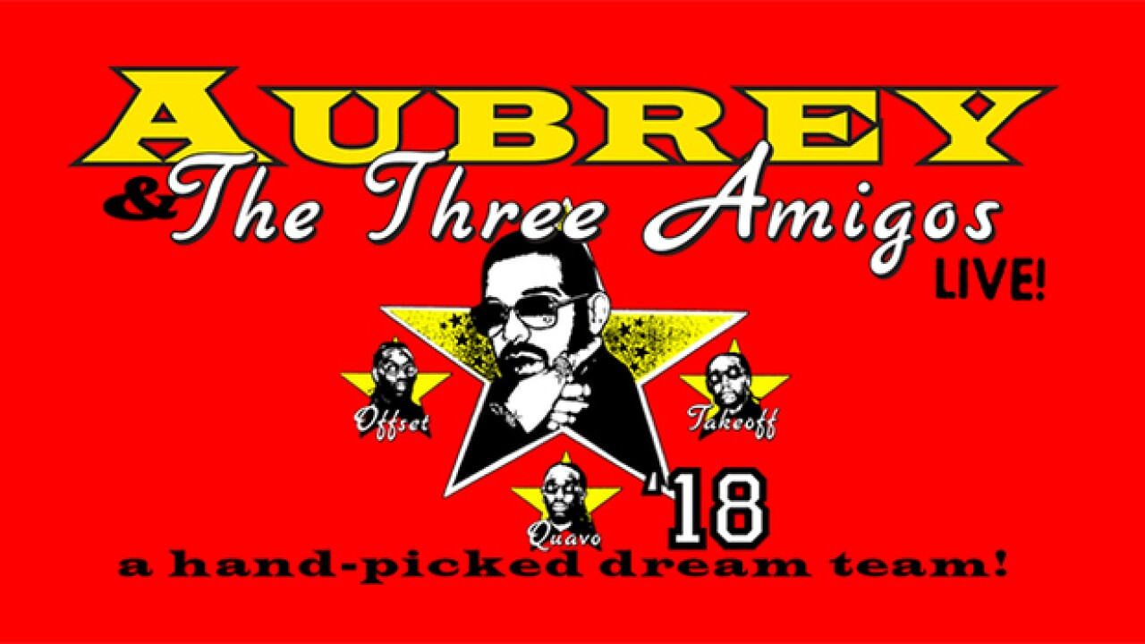 Drake bringing 'Aubrey & The Three Amigos Tour' to Detroit this summer