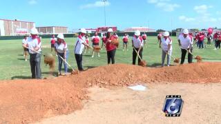 Robstown starts installing new turf fields