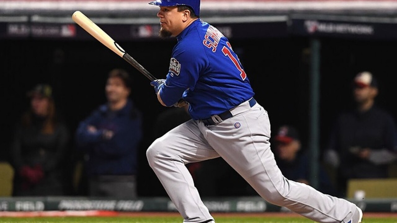 Schwarber wastes no time making mark in Series