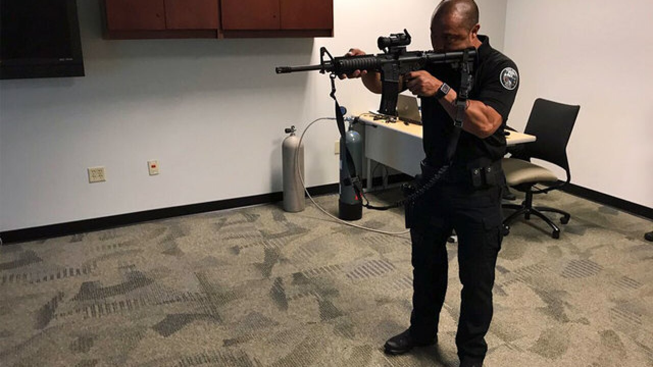 Foundation donates shoot, don't shoot training simulator to Boca Raton Police