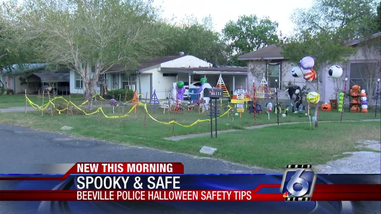 Beeville Police Department offers Halloween safety tips