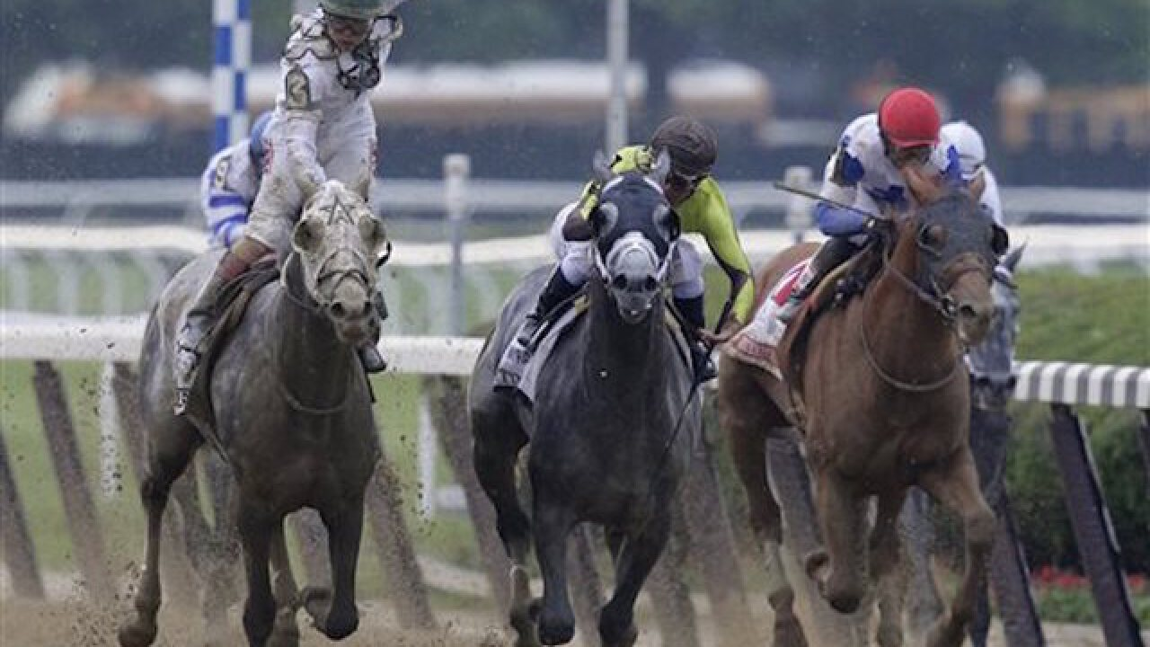 Photo finish at Belmont Stakes ends in upset
