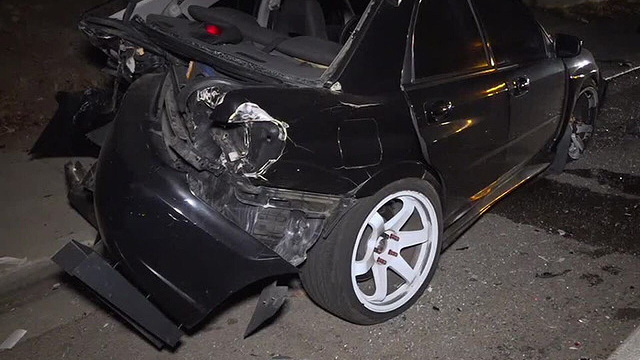 Resident chases down driver in hit-and-run