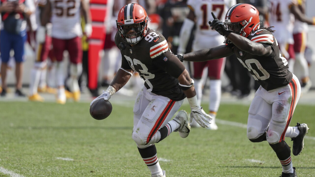 The Browns defense stepped up when no one thought they could
