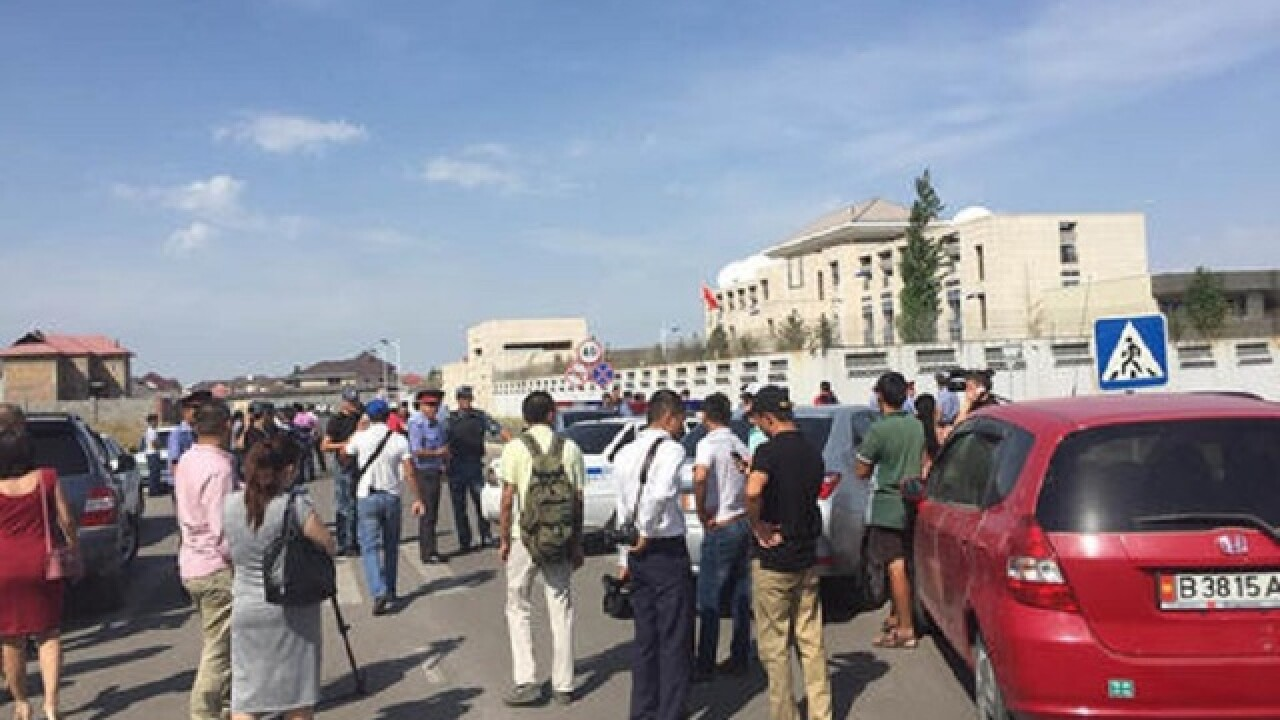 Suicide bombing attack at Chinese embassy in Kyrgyzstan