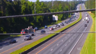 Dump truck fire leads to stopped traffic on I-10 westbound, mile marker 200