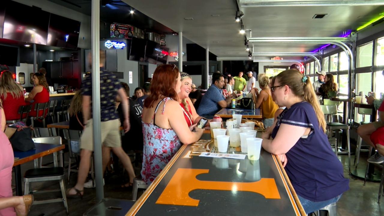 Popular East Nashville bar temporarily opens amid tornado renovations