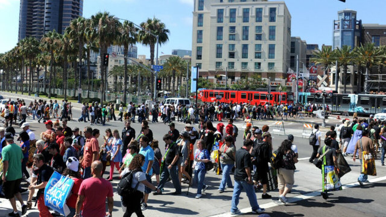 San Diego Comic-Con 2018: Stretch of Harbor Drive closing during event at Convention Center