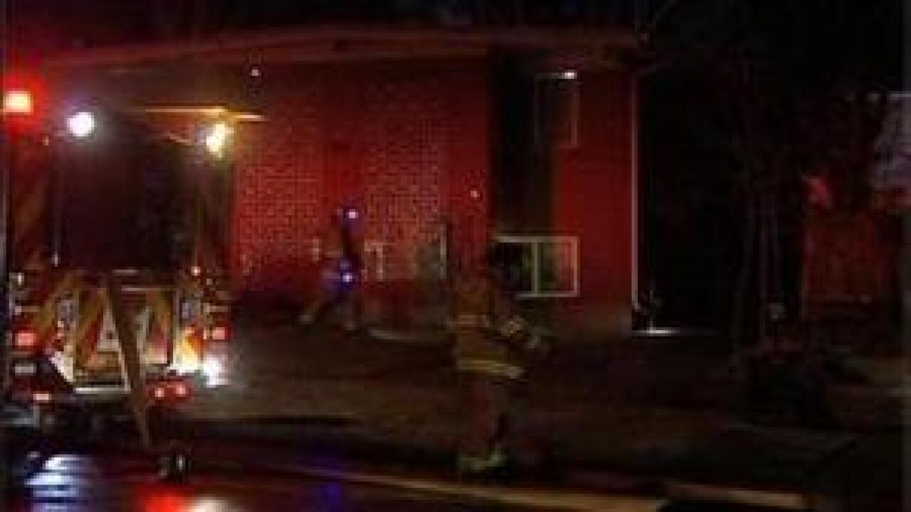 Arson investigation of overnight fire in Avenues