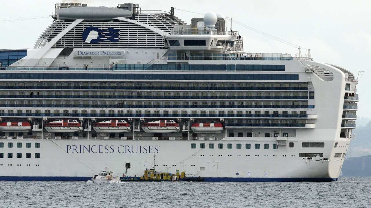 Cruise ship quarantined in Japan after passenger diagnosed with coronavirus