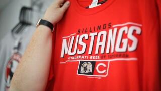 Billings Mustangs jersey