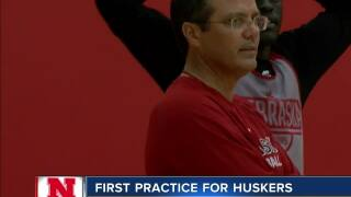 Huskers have first basketball practice of season