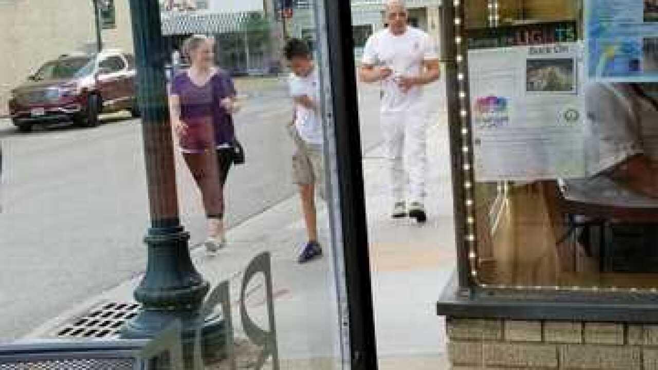 Actor Vin Diesel spotted in Hartford