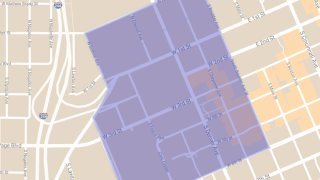 President Rally Closure Map.png
