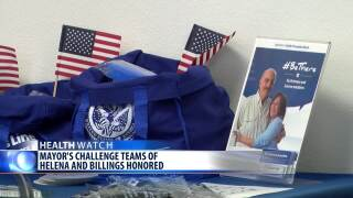 Suicide prevention teams honored in Helena