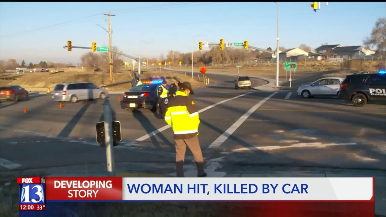 Police identify woman hit and killed by car in Clearfield