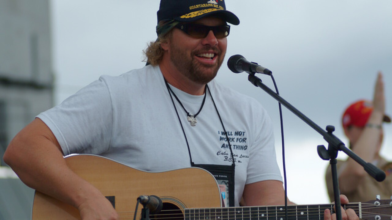 Toby Keith to perform in Lincoln