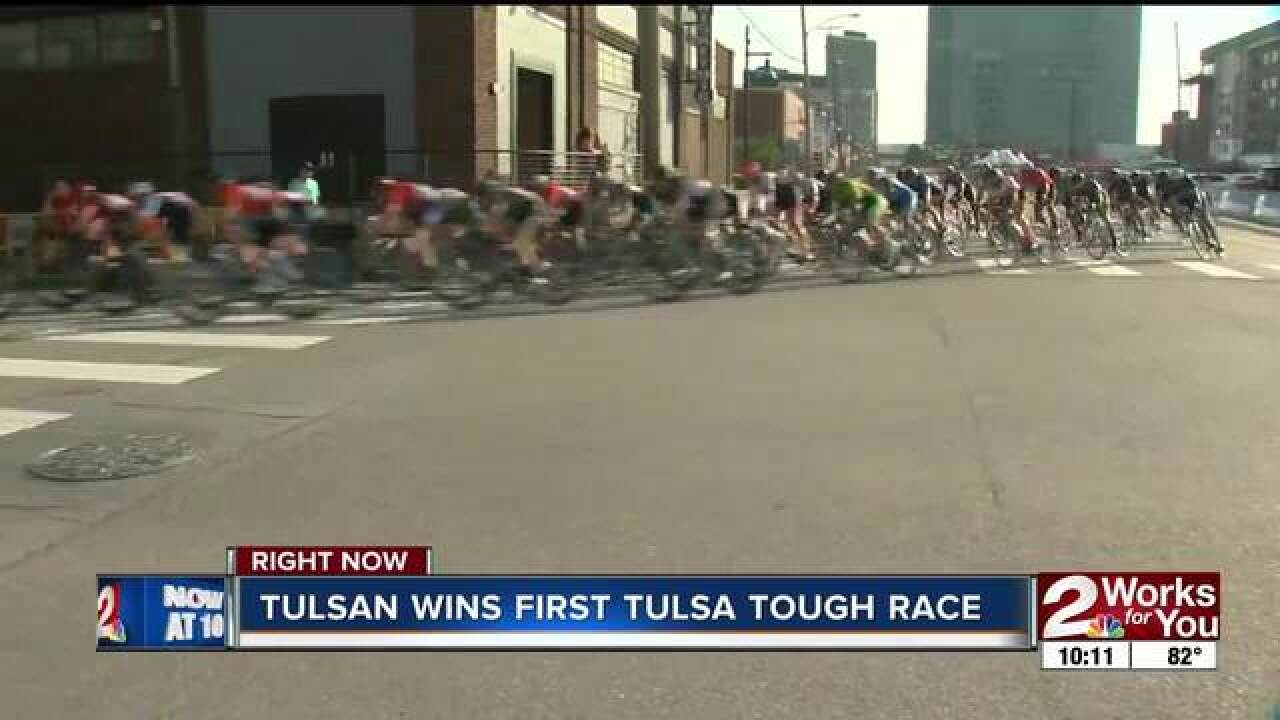Tulsan wins first Tulsa Tough race