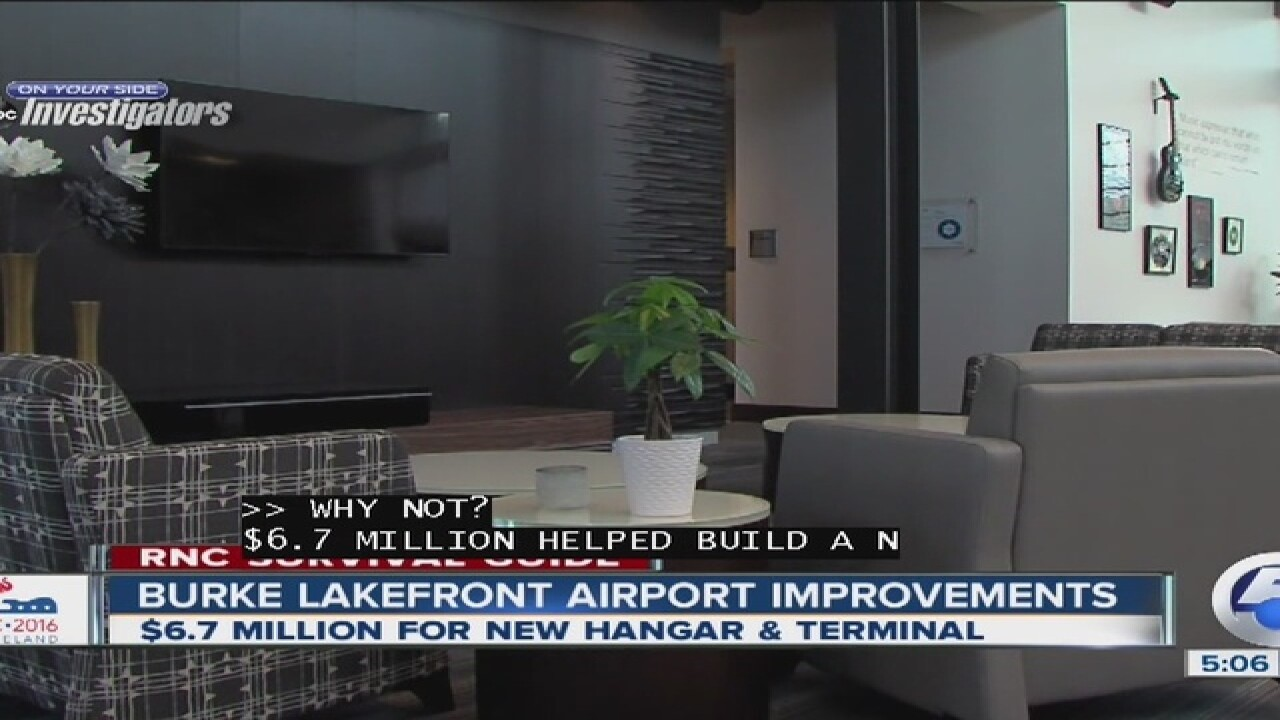 Burke Lakefront Airport see improvements...