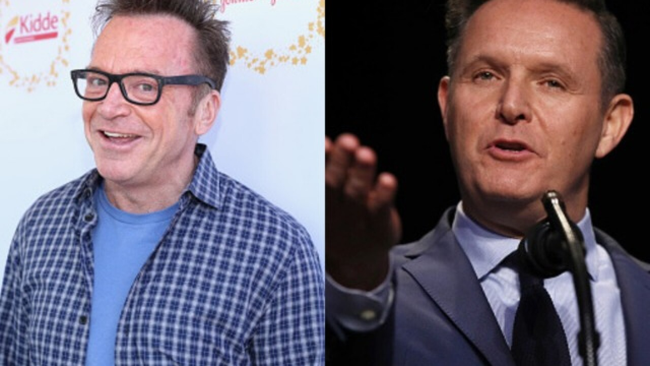 Tom Arnold, Mark Burnett involved in scuffle at Emmy's party