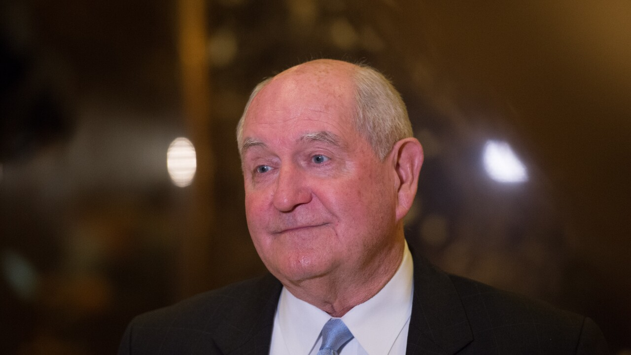 Trump picks Georgia Gov. Sonny Perdue as Secretary of Agriculture