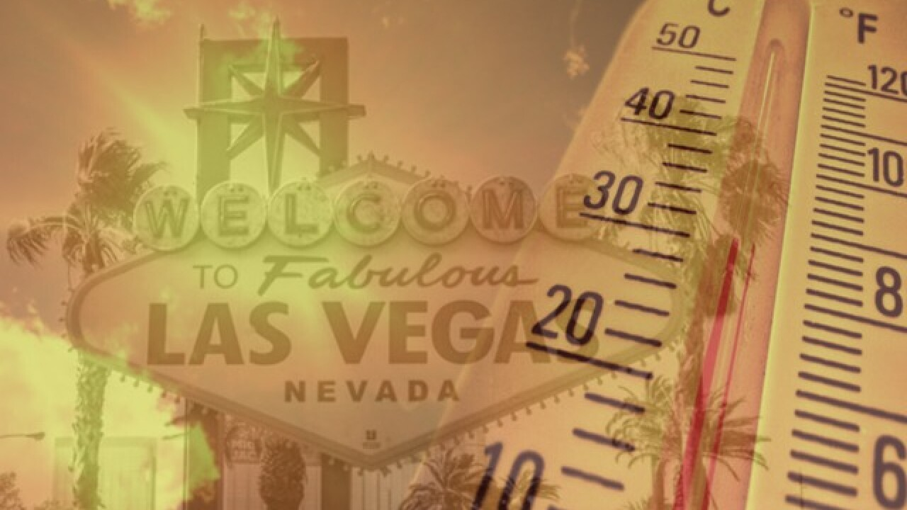 Cooling stations available across Las Vegas