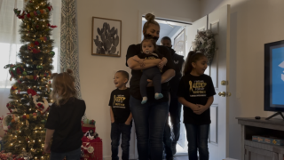 Sabrina Sanchez and family