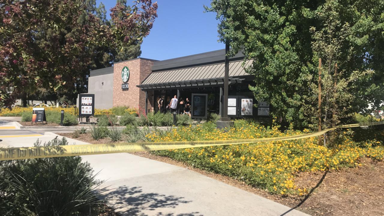 Stabbing at Starbucks on Stockdale Hwy