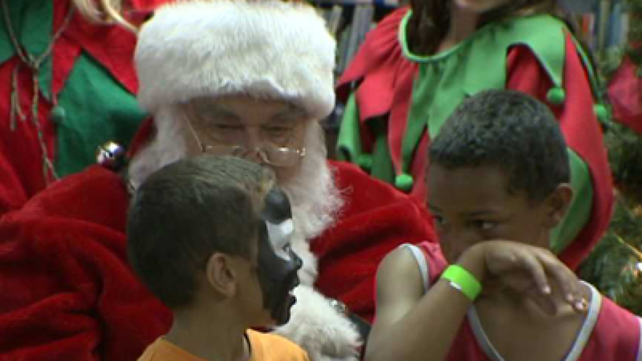 Christmas comes in July for kids in need