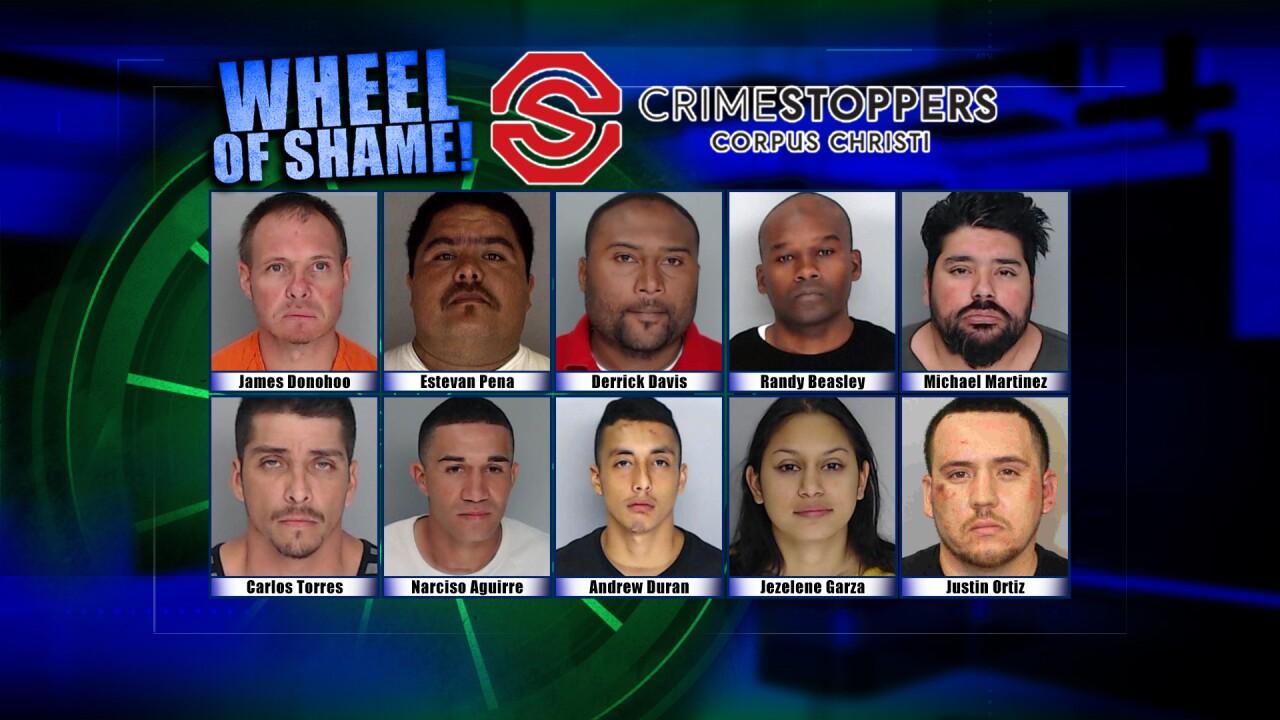 Wheel Of Shame Fugitives: October 2, 2019