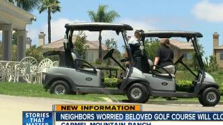 Neighbors worry beloved golf course will close