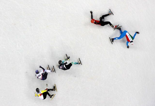 2018 Winter Olympics Thrills and Spills