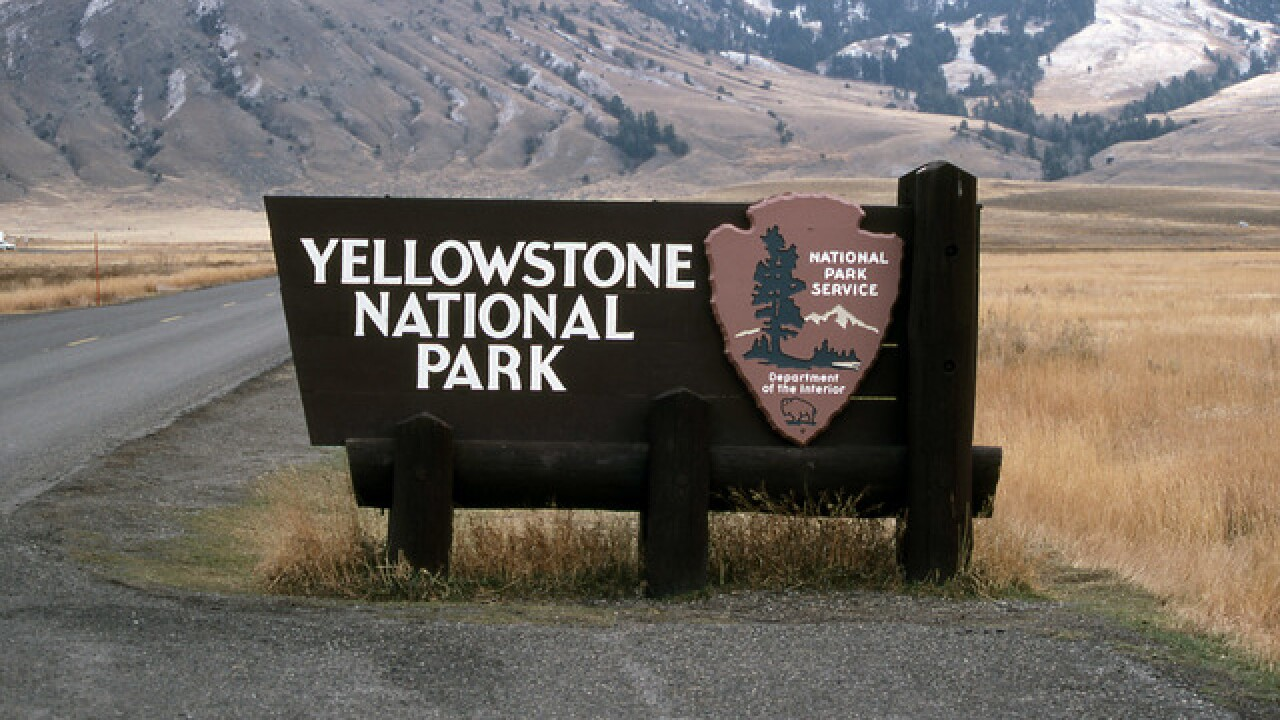 Yellowstone National Park to close most entrances Monday