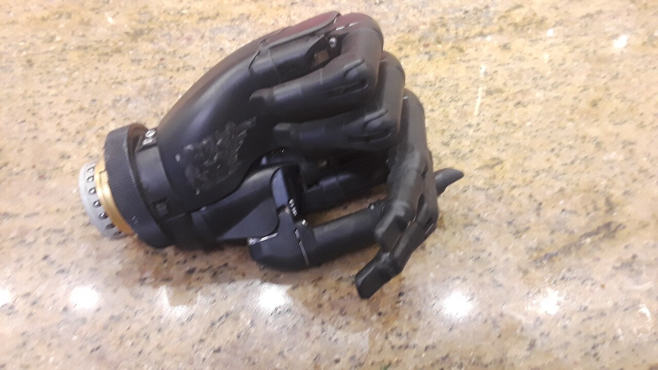 The owner of a mysterious prosthetic hand that showed up in a valley pawn shop has finally come forward