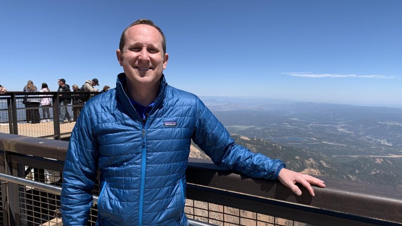 Alan Rose on Pikes Peak