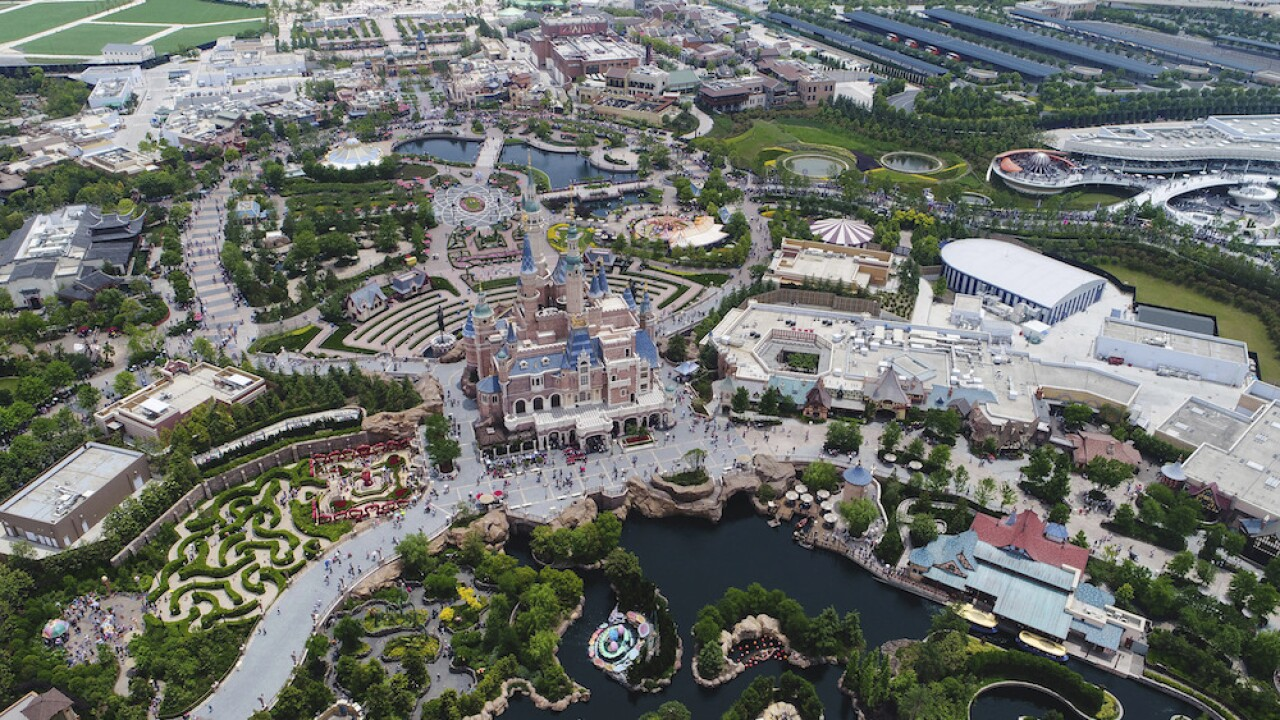 Disneyland in Shanghai reopens with some restrictions