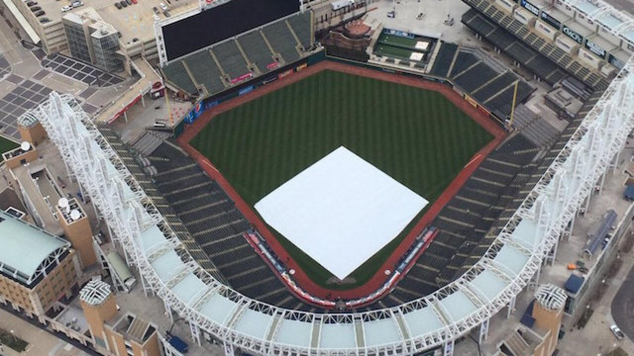 Fan who ran on field during Cleveland Indians game told police 'I'm just getting my workout in'