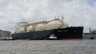 First vessel certified to carry gas from new LNG facility