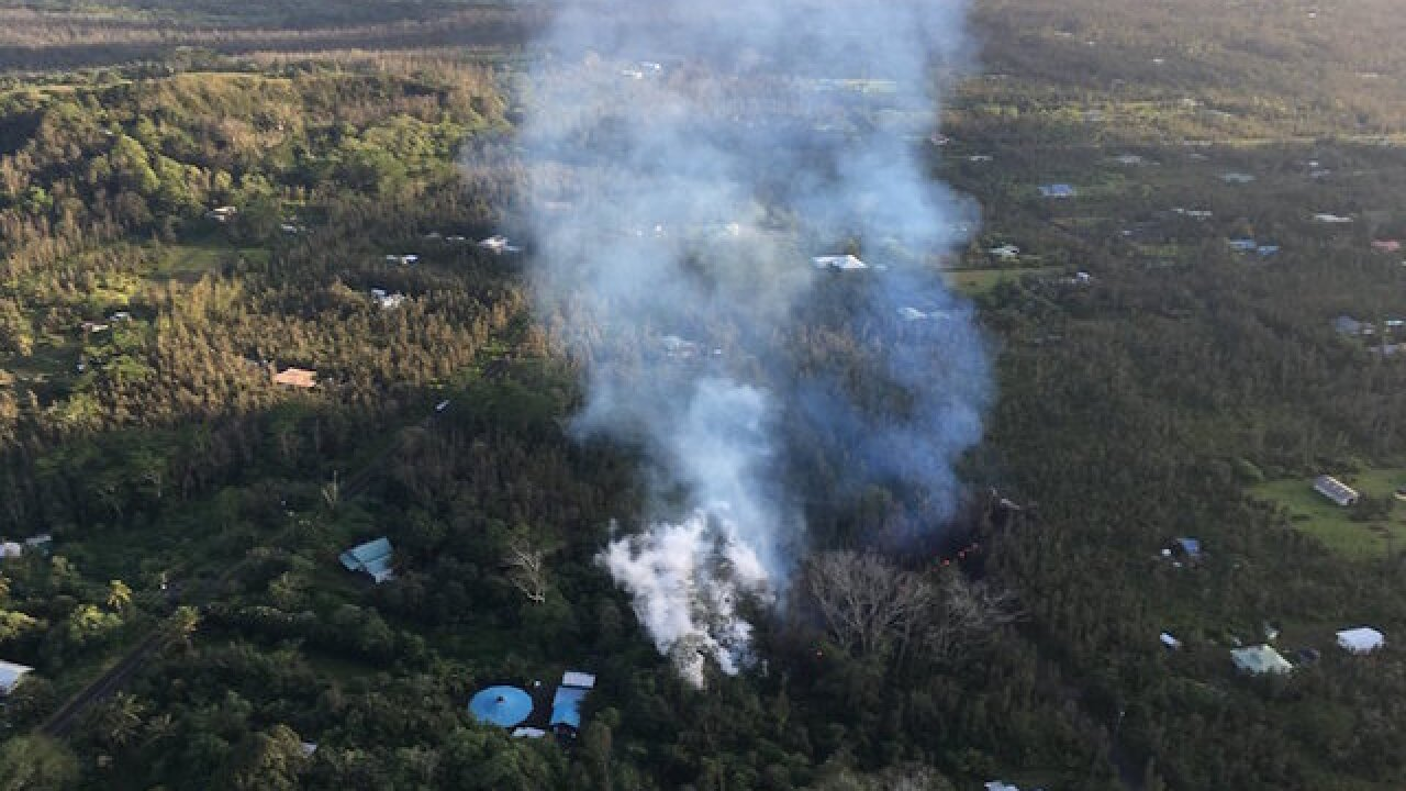 Volcano eruption's lava attracts sight-seers; Hawaii officials warning people to stay away