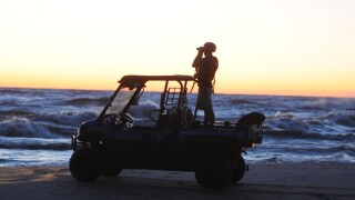 Search for missing man underway at Lake Michigan