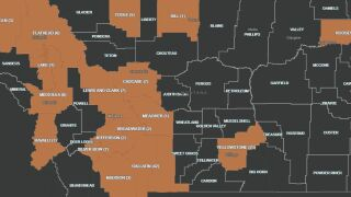 121 cases of COVID-19 in Montana; 1 death (Friday evening, March 27)