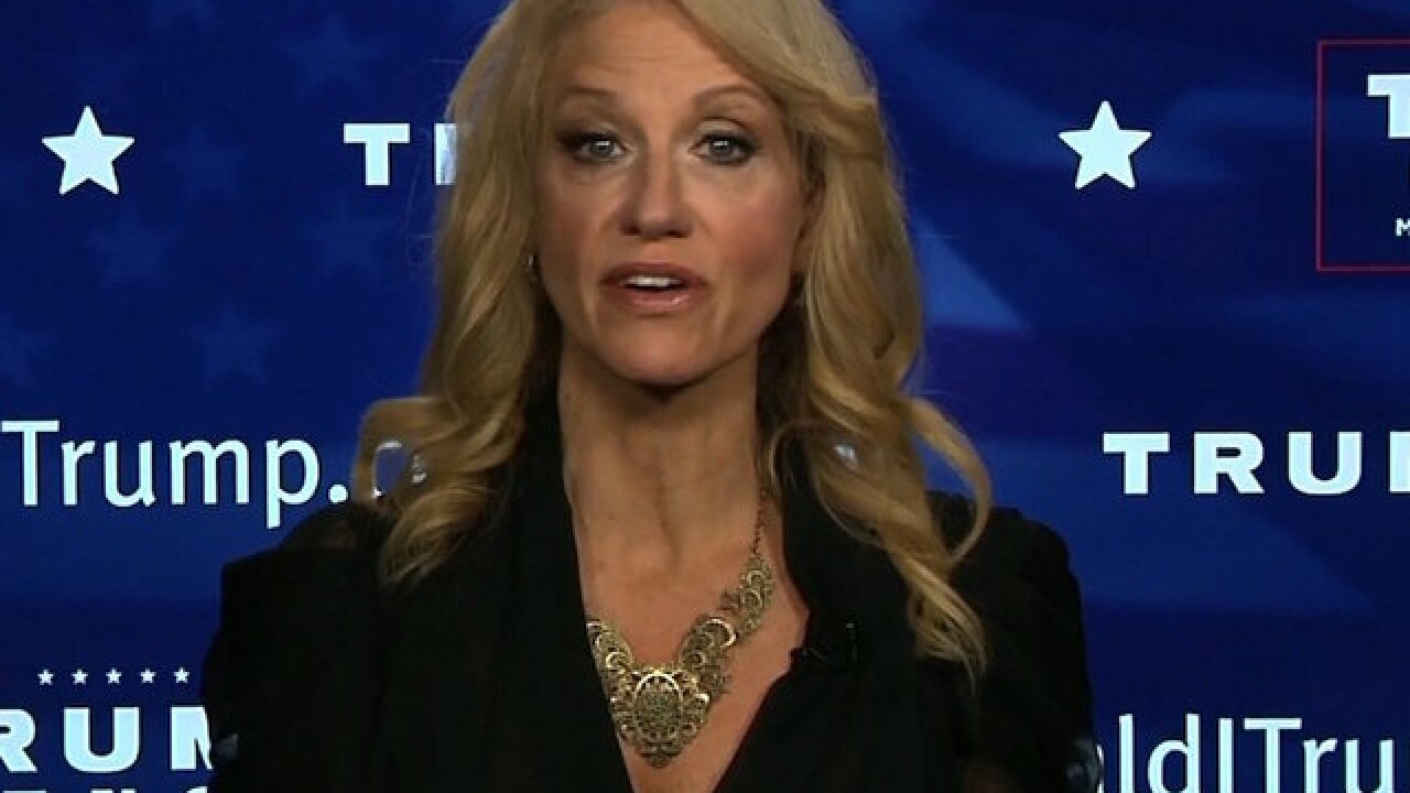 Conway says Trump 'Apprentice' role will be in spare time