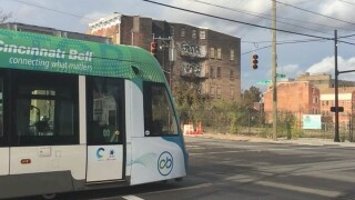 Does streetcar mean less Downtown parking?