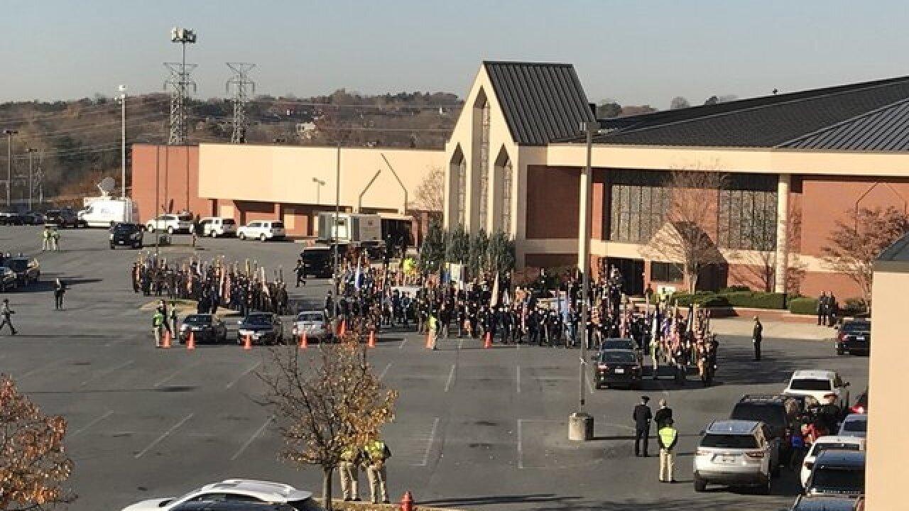 Detective Sean Suiter's funeral in Baltimore