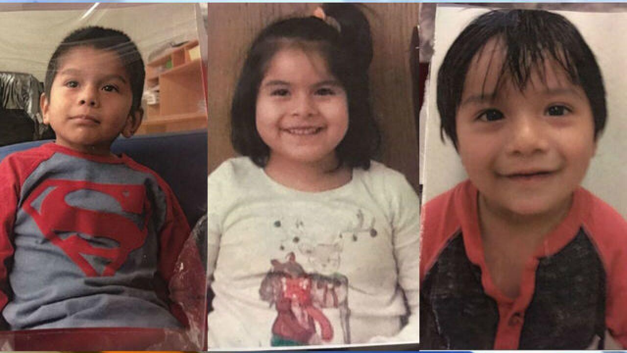 Amber Alert declared for 3 Michigan children