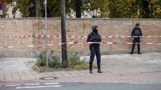 Two killed in attack near German synagogue