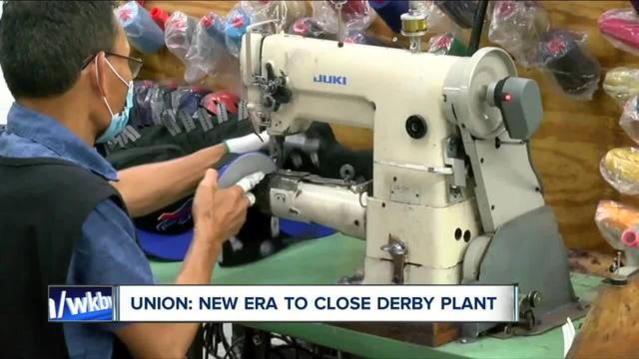 New Era plans closure of Derby plant, union says